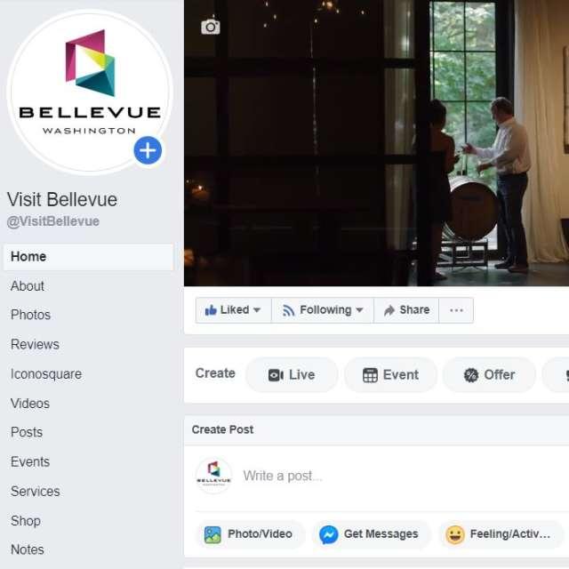 Visit Bellevue Facebook