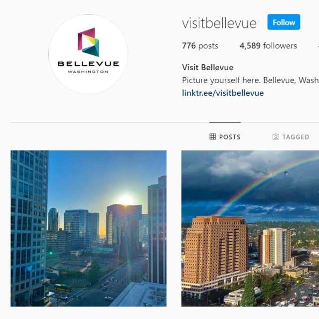 Visit Bellevue Instagram