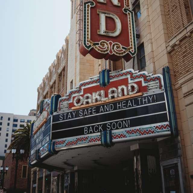 Fox Oakland Sign