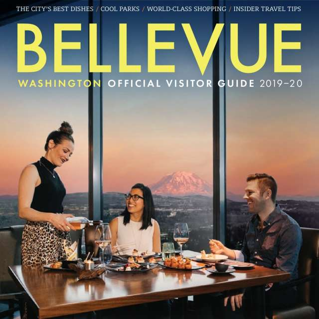 Bellevue Visitor Guide Cover