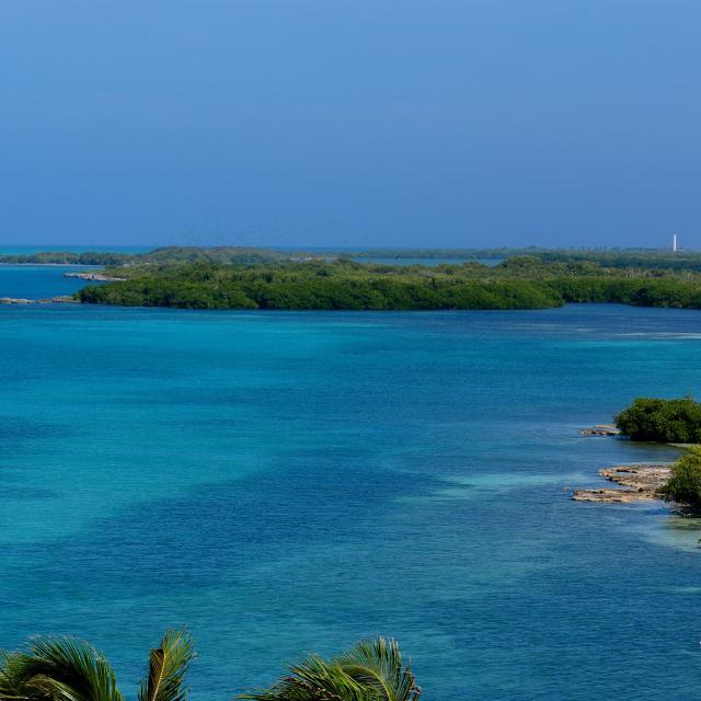 Isla Contoy Aeral