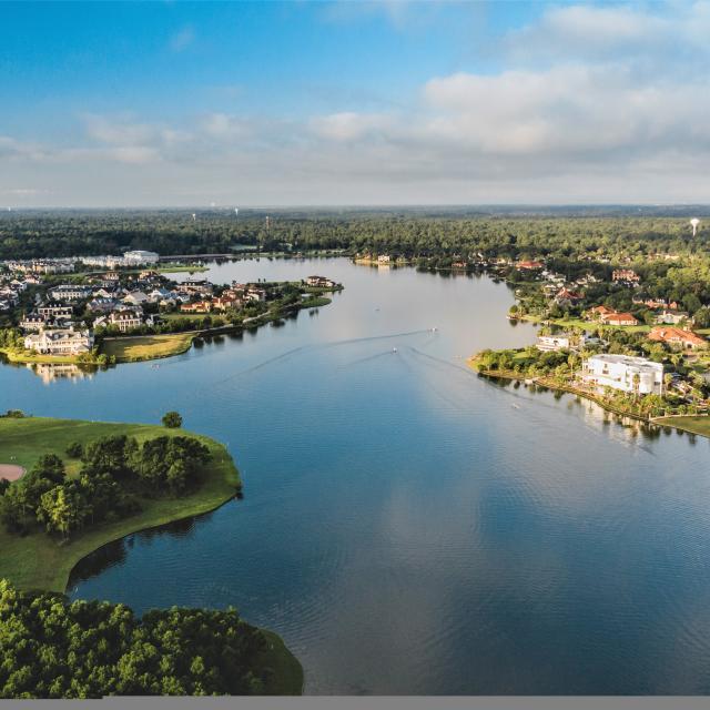 Lake Woodlands Aerial