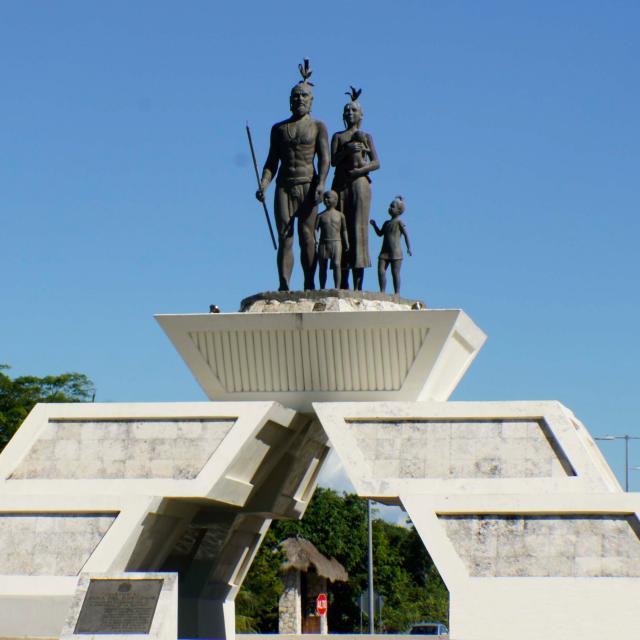 Chetumal - Monumento a la Cuna del Mestizaje