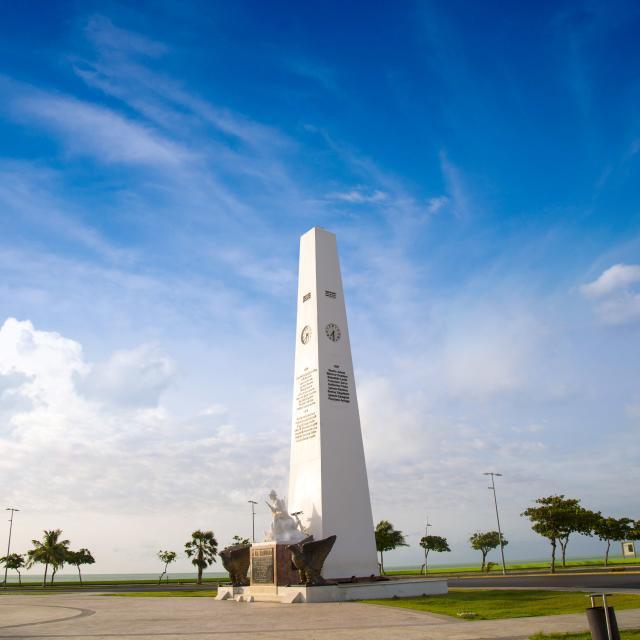 Chetumal - Monumento a la Bandera