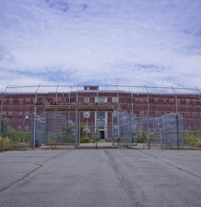 Central State Rivers Prison Exterior in Milledgeville