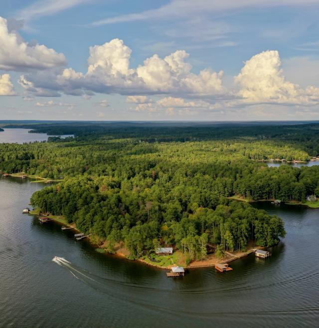 Lake Sinclair Lerzo Aerial Productions