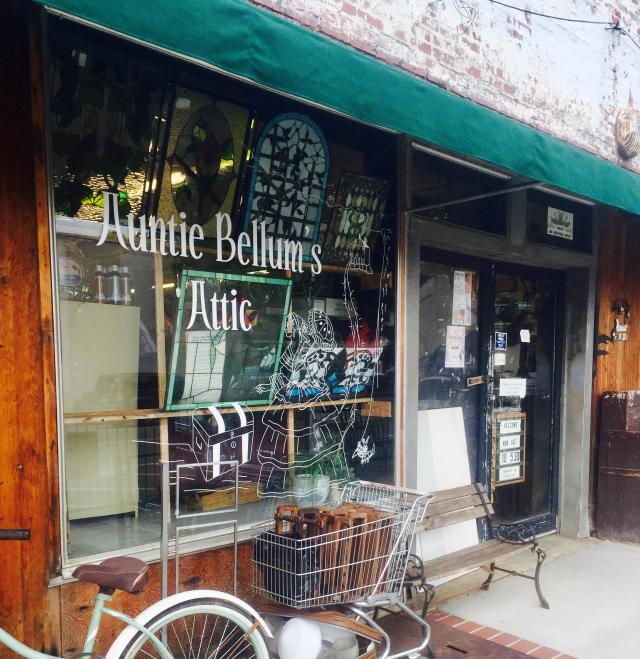Auntie Bellum's Attic antique store