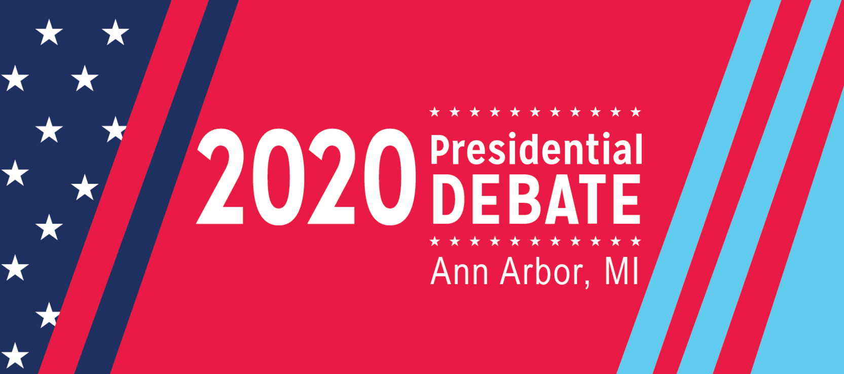 2020 Presidential Debate in Ann Arbor