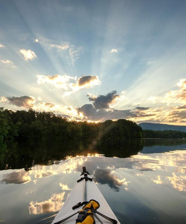 Kayaking Beaver Creek Reservoir