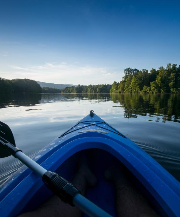 Kayak on Beaver Creek