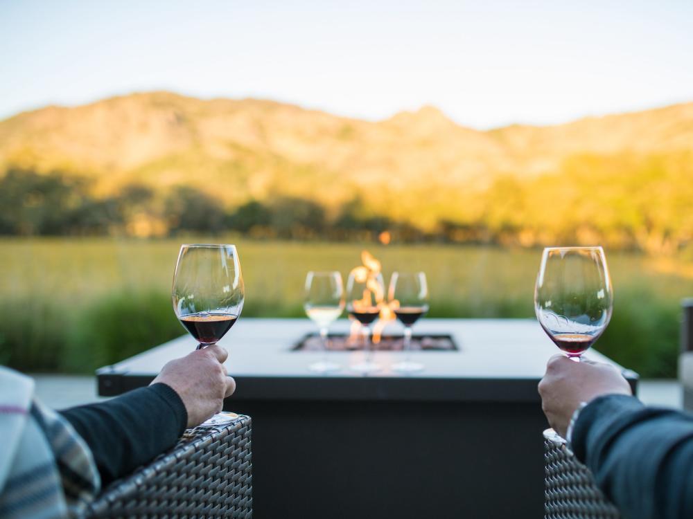 Winter Romance in Napa Valley