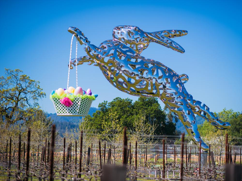 Easter in Napa Valley at HALL Wines