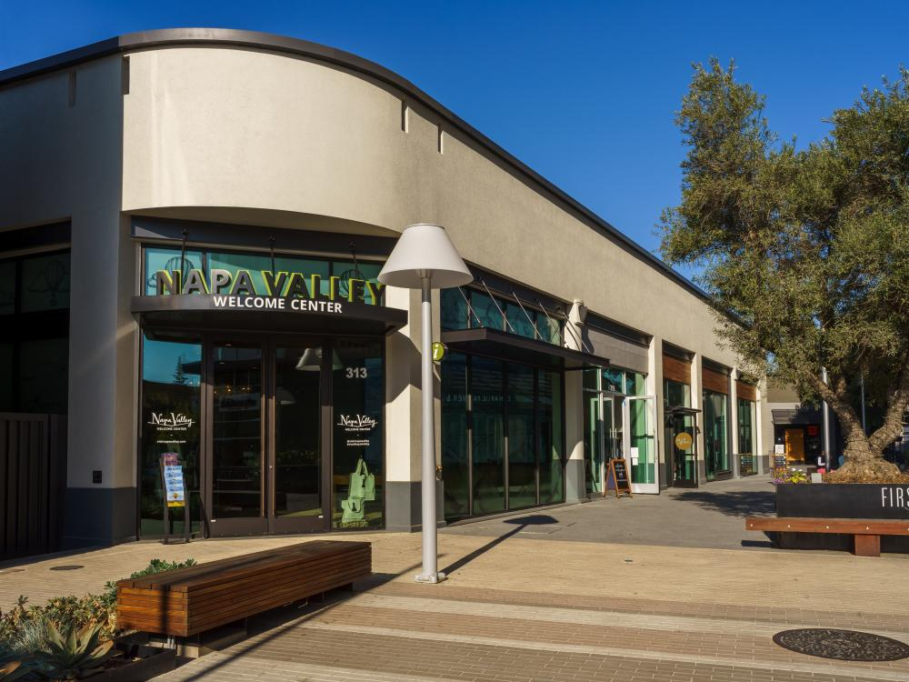Napa Valley Welcome Center in First Street