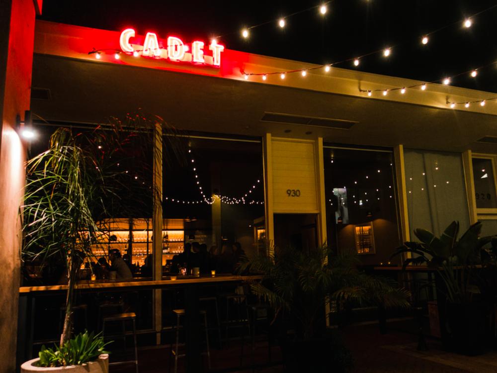 Patio Lights at Cadet Wine and Beer Bar in Napa