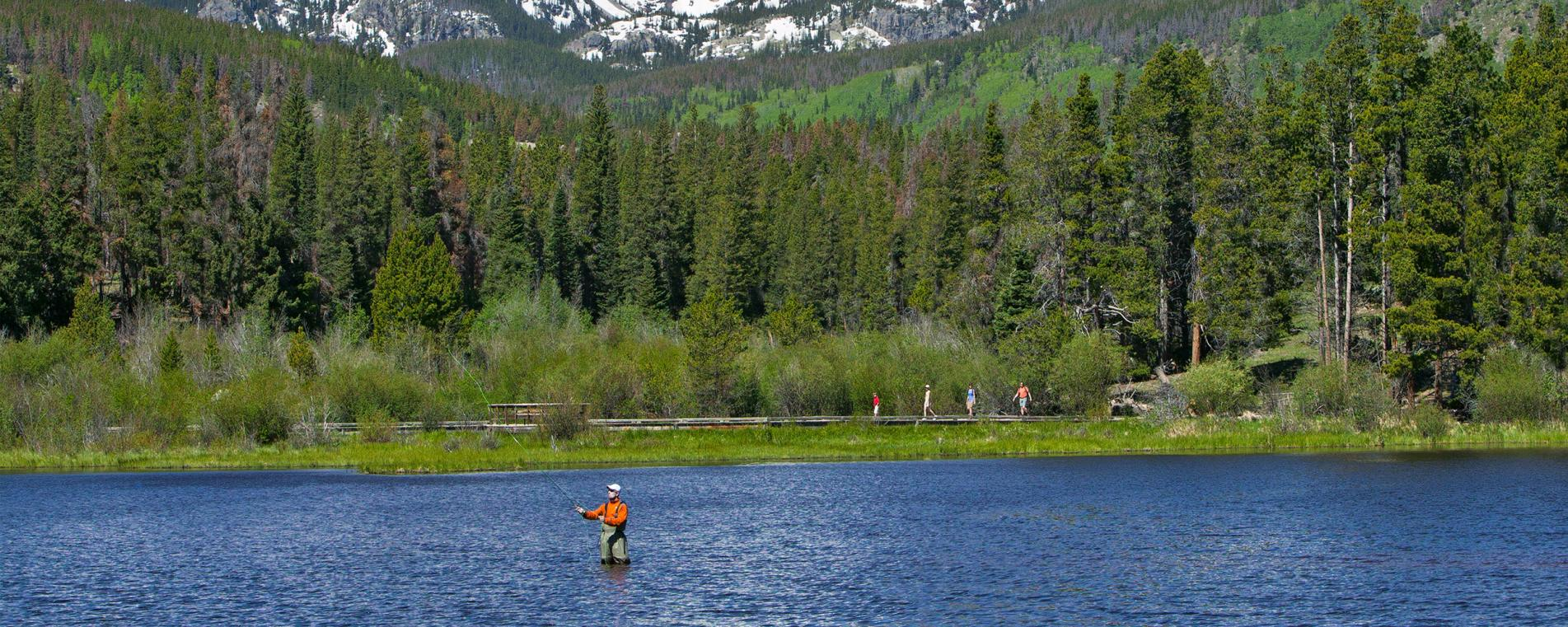 Alpine Fishing in Rocky Mountain National Park