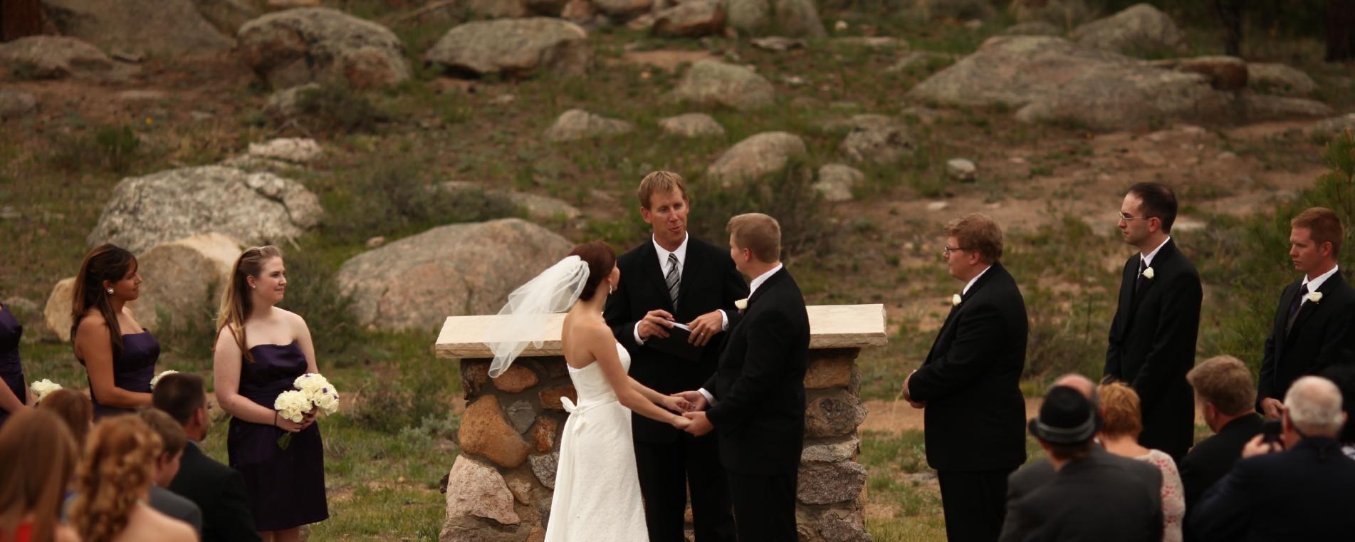 A Variety of Outdoor Wedding Venues in Estes Park