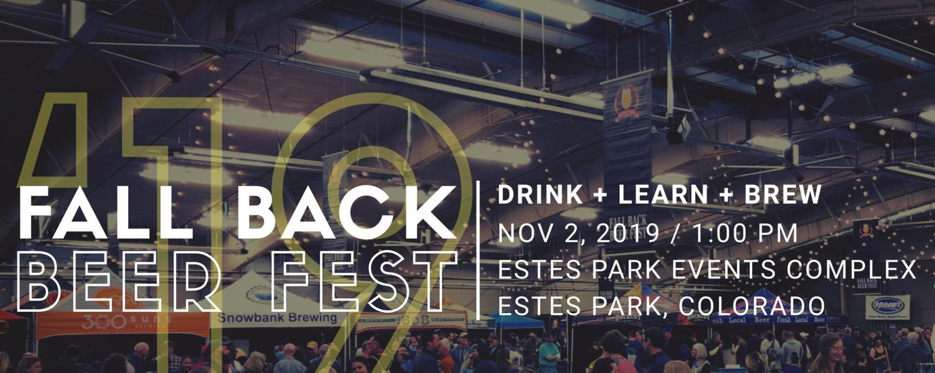 Fall Back Beer Fest 2019 Cover