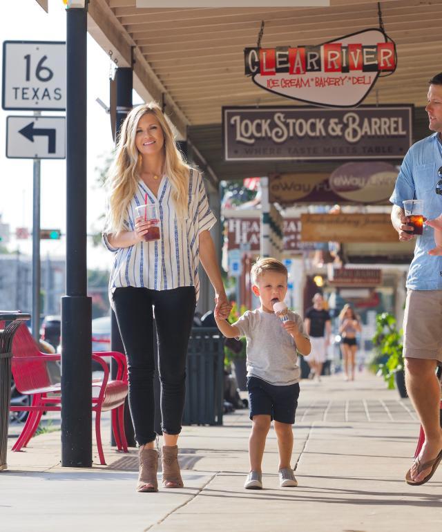 Family on Main Street
