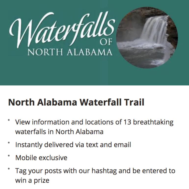 Waterfall Trail App
