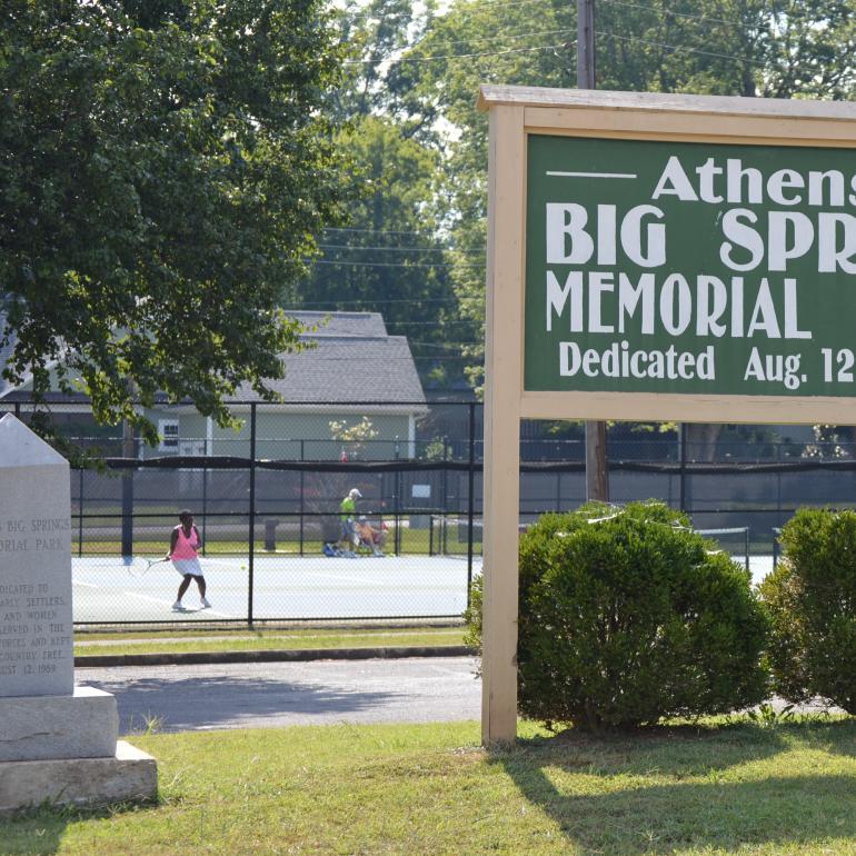 Big Spring Memorial Park Athens