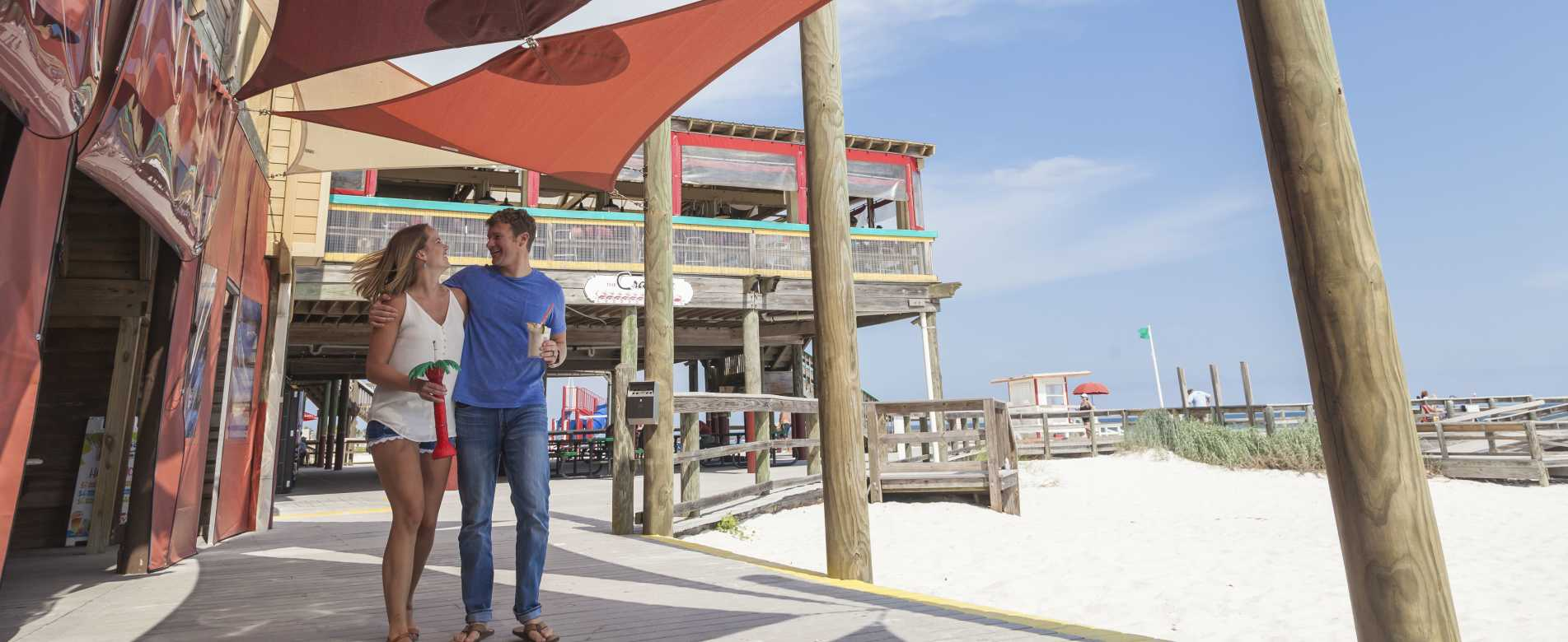 The Boardwalk On Okaloosa Island Ping Emerald Coast