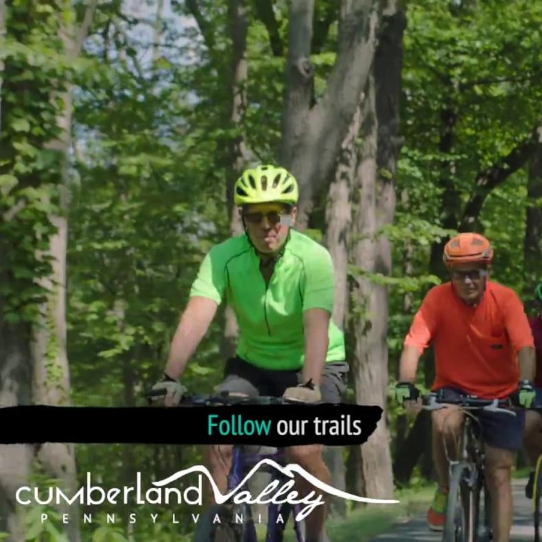 Biking in the Cumberland Valley