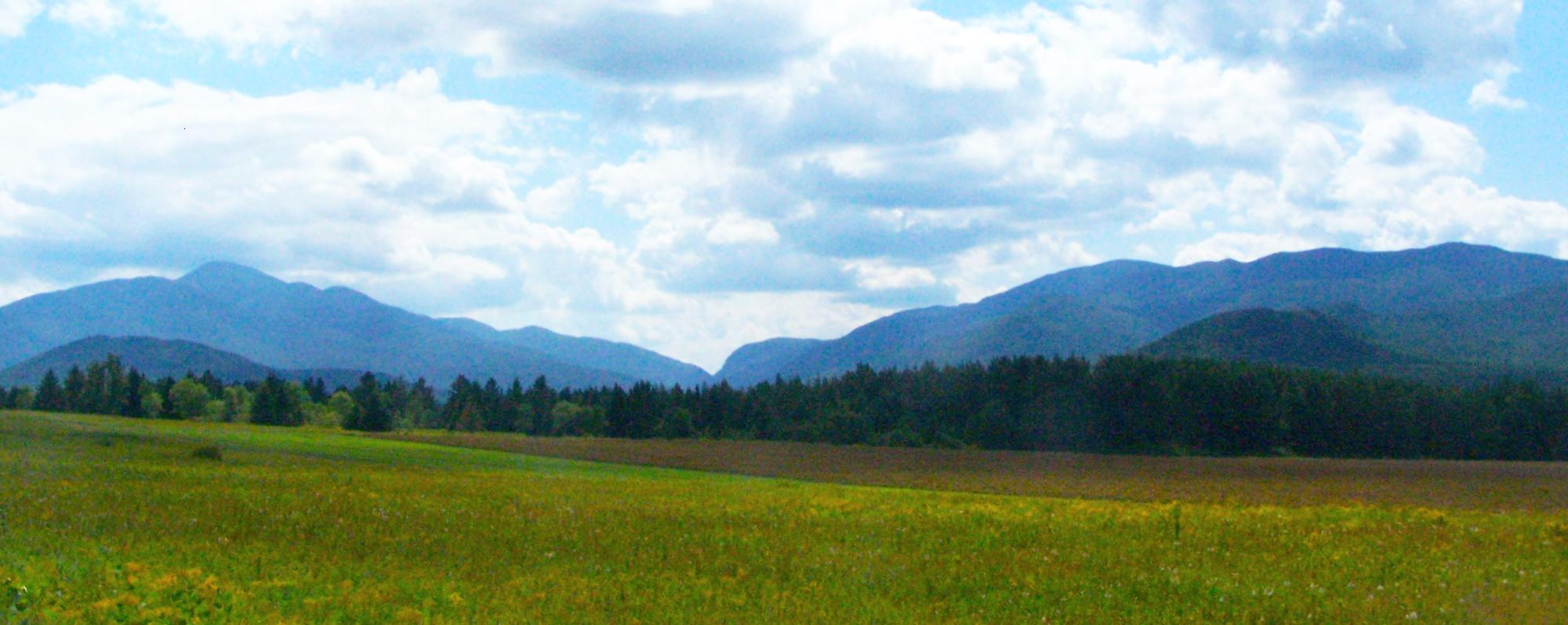 Landscape of Adirondack High Peaks