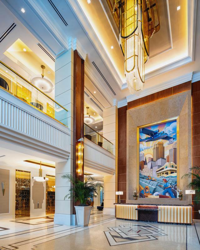 Higgins Hotel Lobby