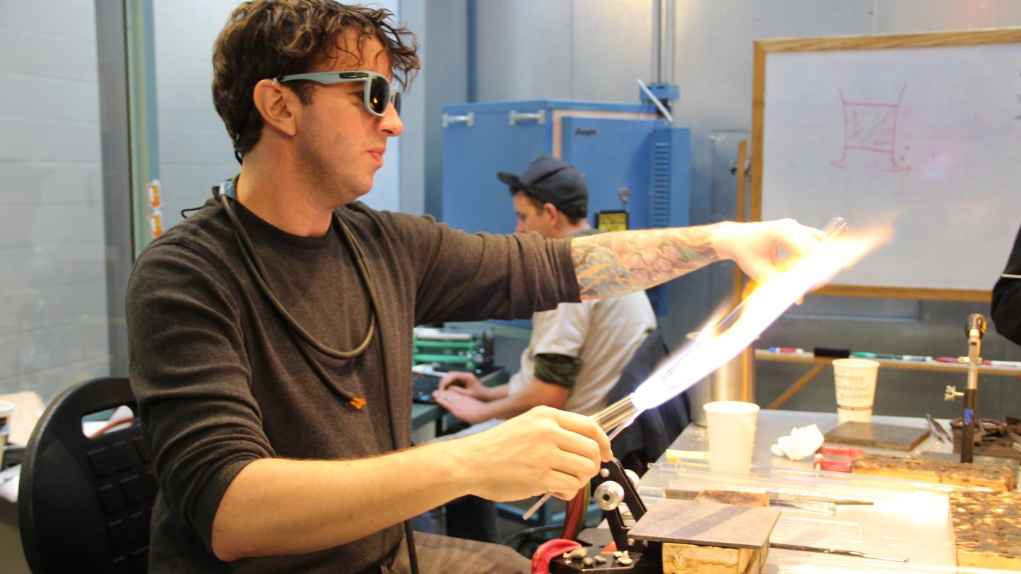 Flameworking at CMOG