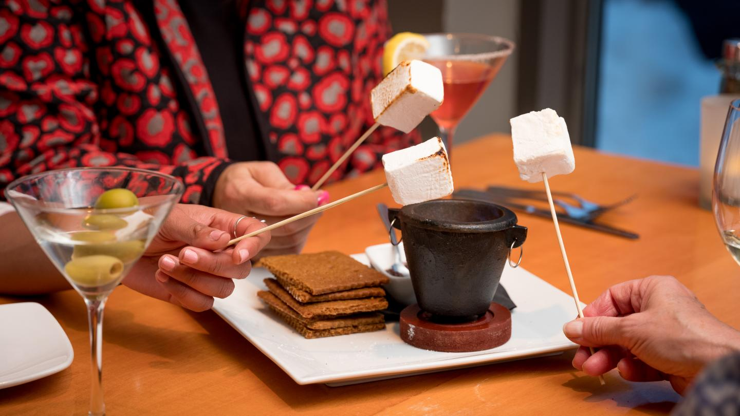 Smores at the The Cellar