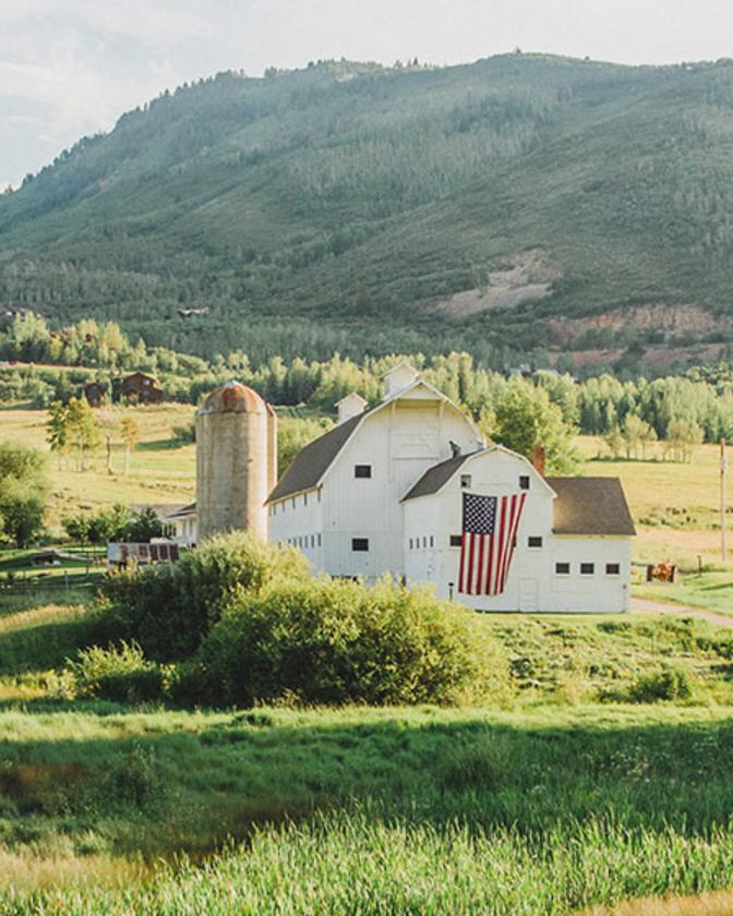 McPolin Farm is a favorite historic site in Park City, Utah