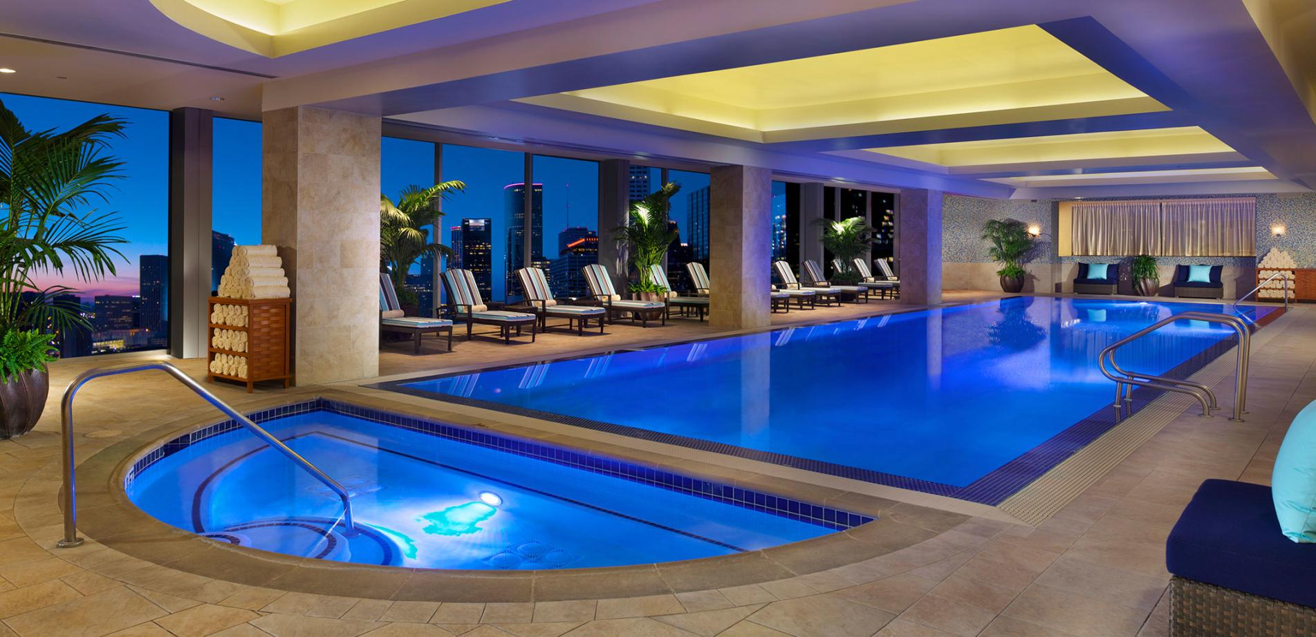 The Hilton Americas Rooftop Pool