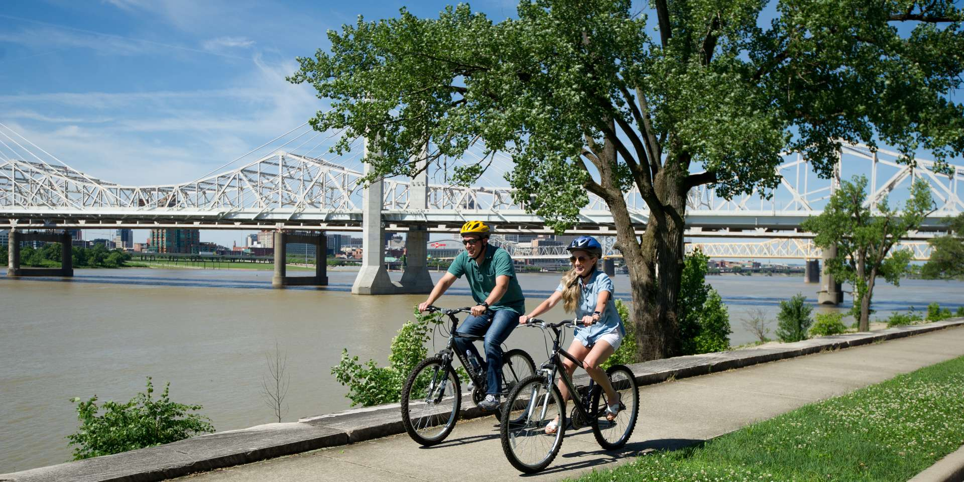 riverfront biking - greenway