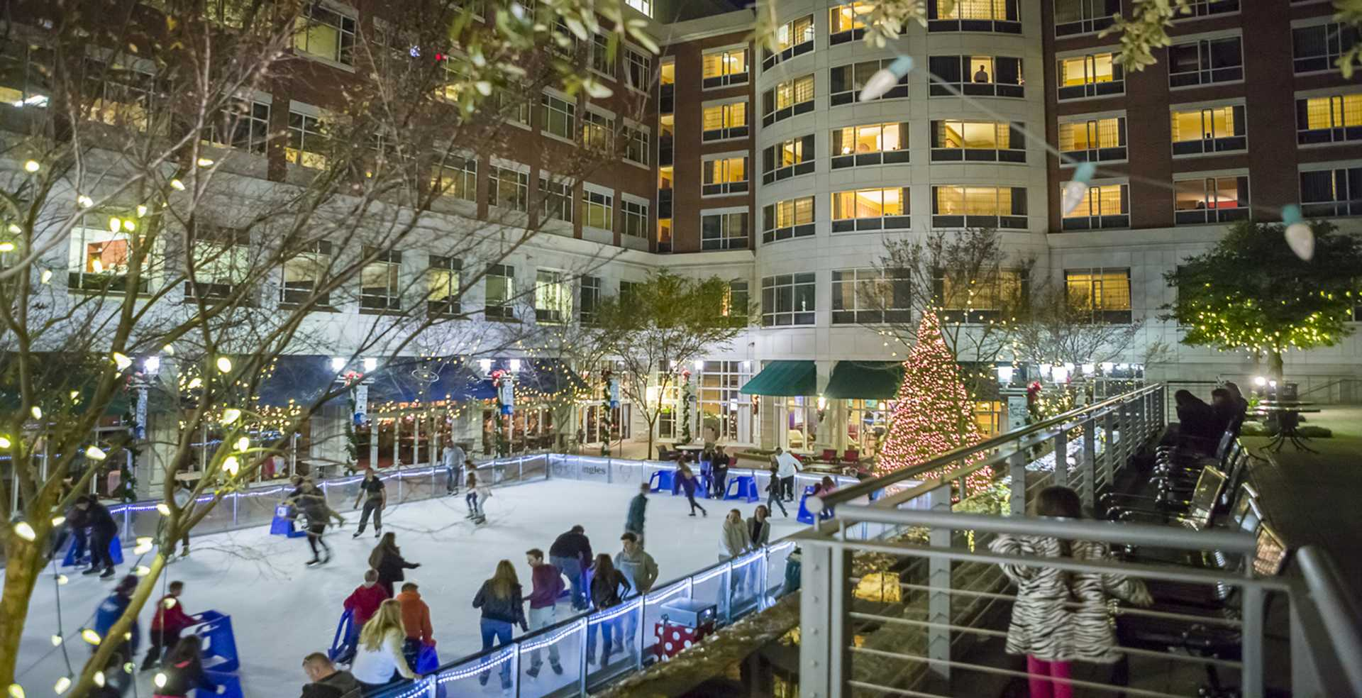 UCB Ice on Main - On the Rink