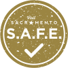 Sac S.A.F.E. Pledge Round Badge