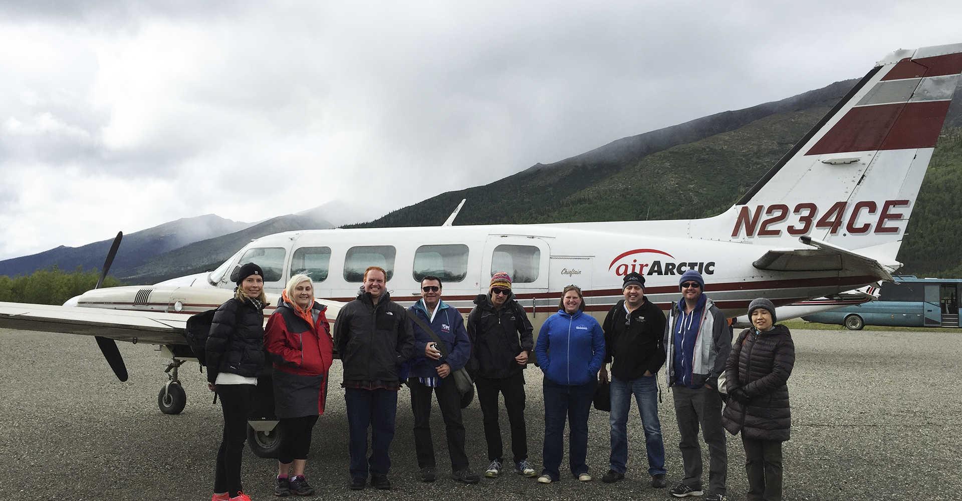 Explore Fairbanks, Alaska - Air Transportation
