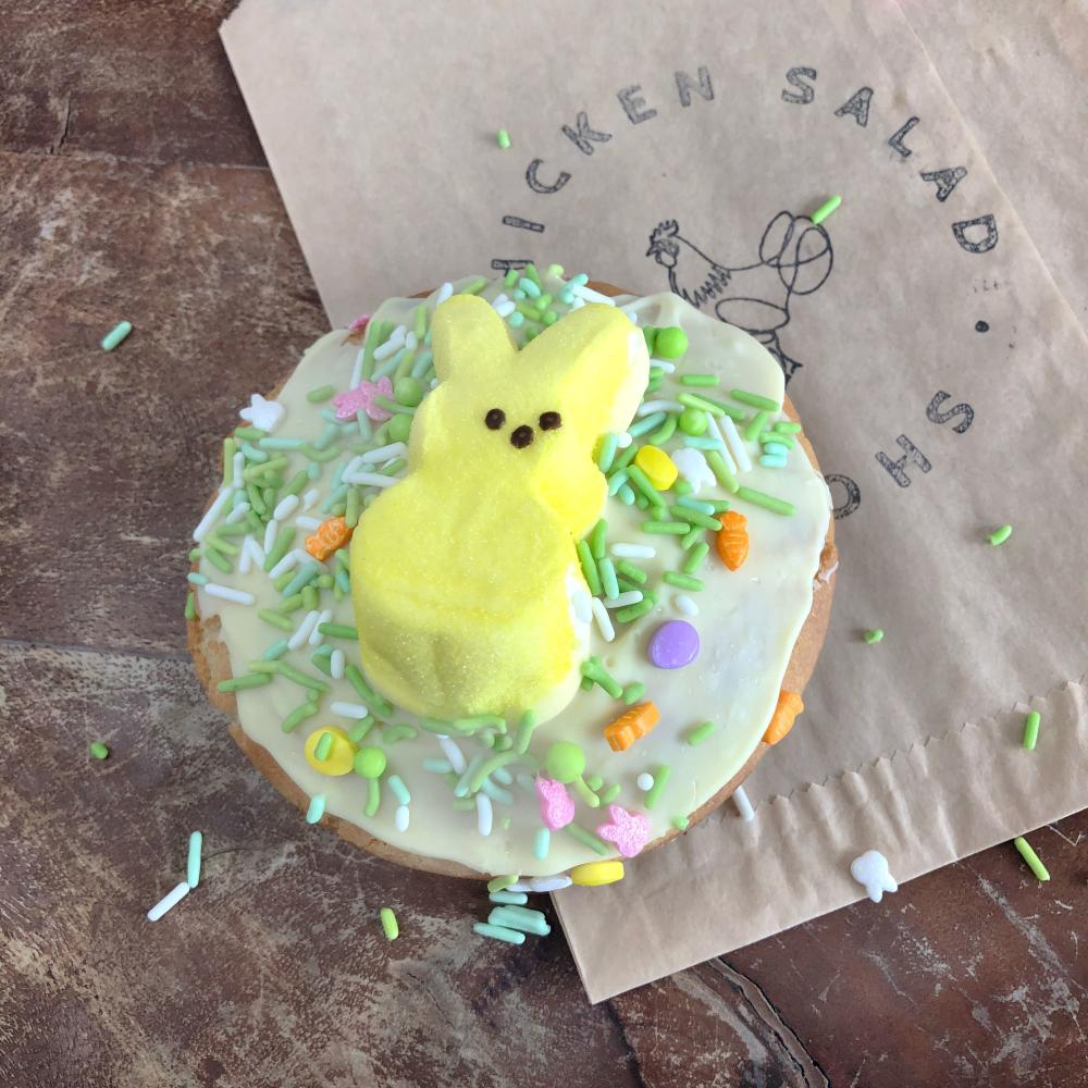 Passion of the Peep Easter special from Chicken Salad Shoppe in Austin Texas