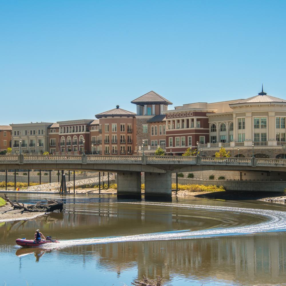 Napa River and Downtown Napa