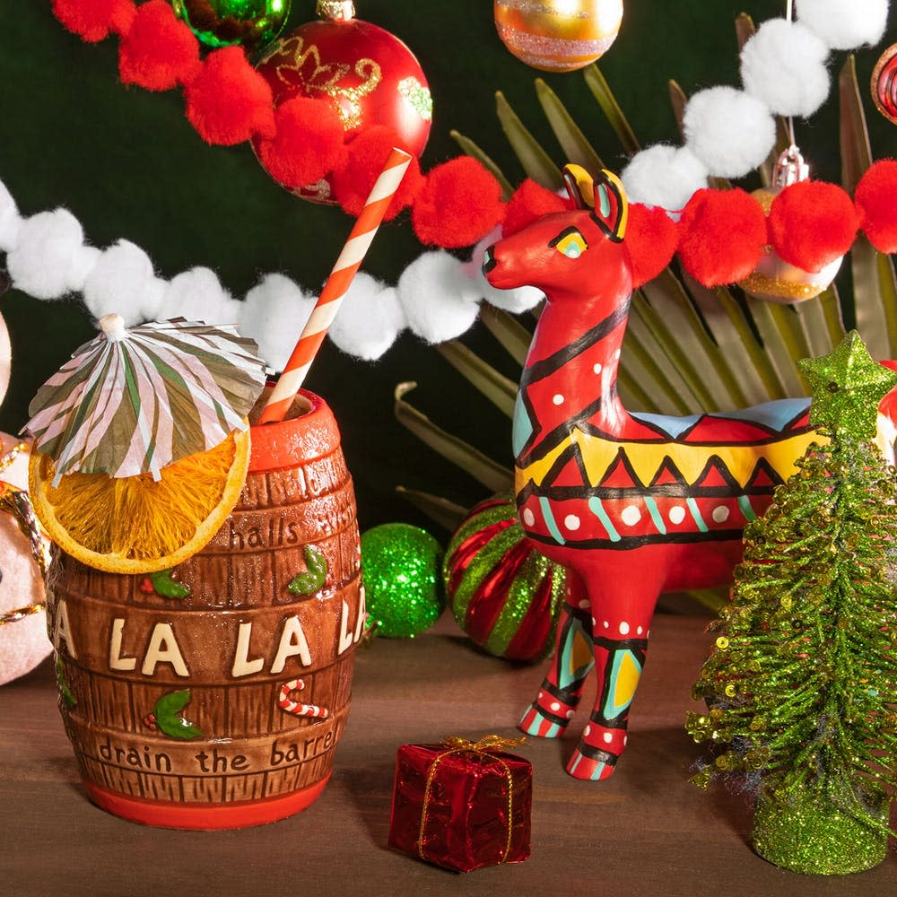 Christmas Carol Barrel