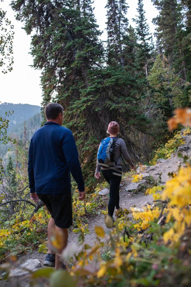 Bridle Trail Fall Casper Mountain