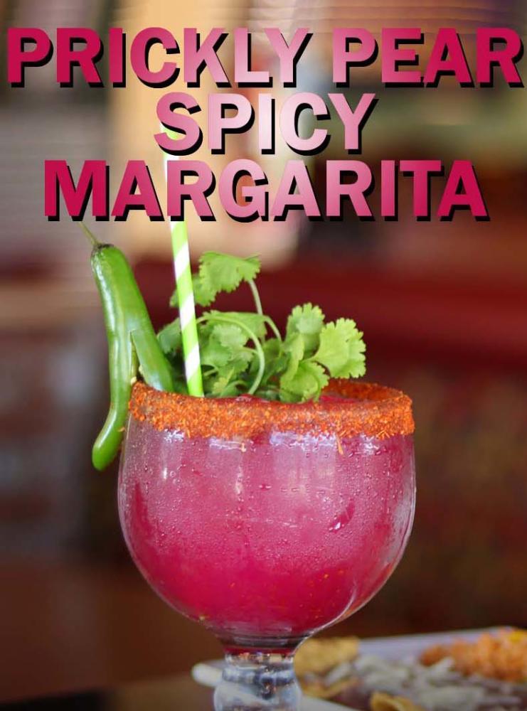 Burgers & Beer Prickly Pear Spicy Margarita