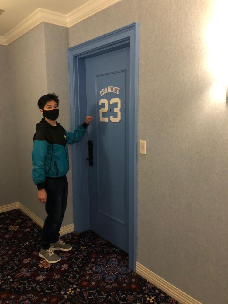 Room 23, MJ, Graduate Chapel Hill Hotel