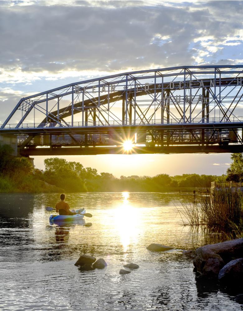 Ocean to Ocean Bridge at the Colorado River