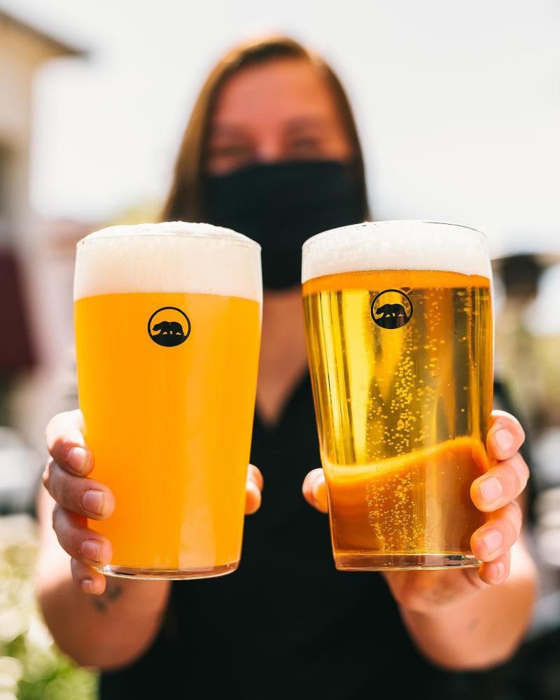 Beers from Alvarado Street Brew