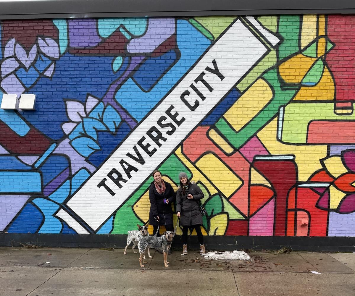 Downtown Traverse City Murals