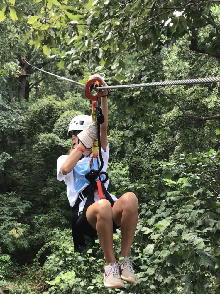 Carley's Adventure Zip Line