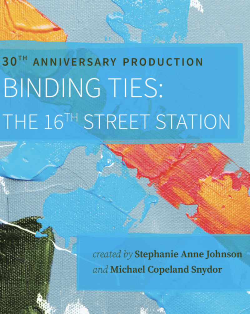 Oakland Theater Project Binding Ties Movie Poster