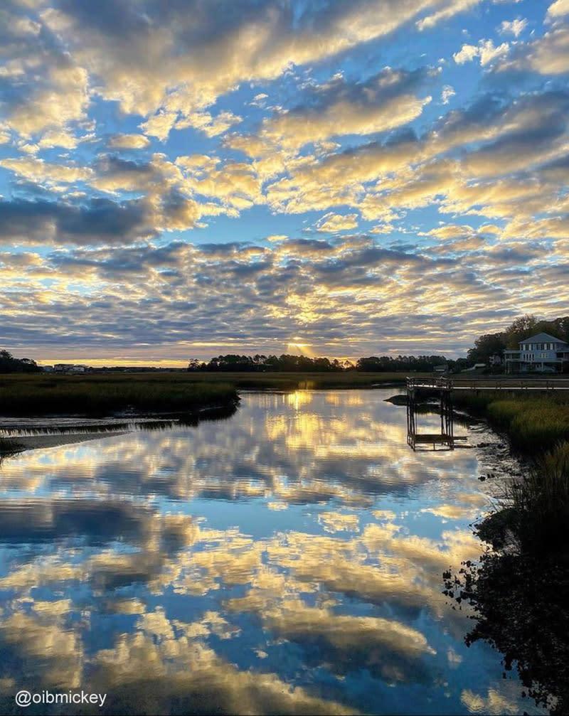 Sunrise in Ocean Isle Beach, North Carolina