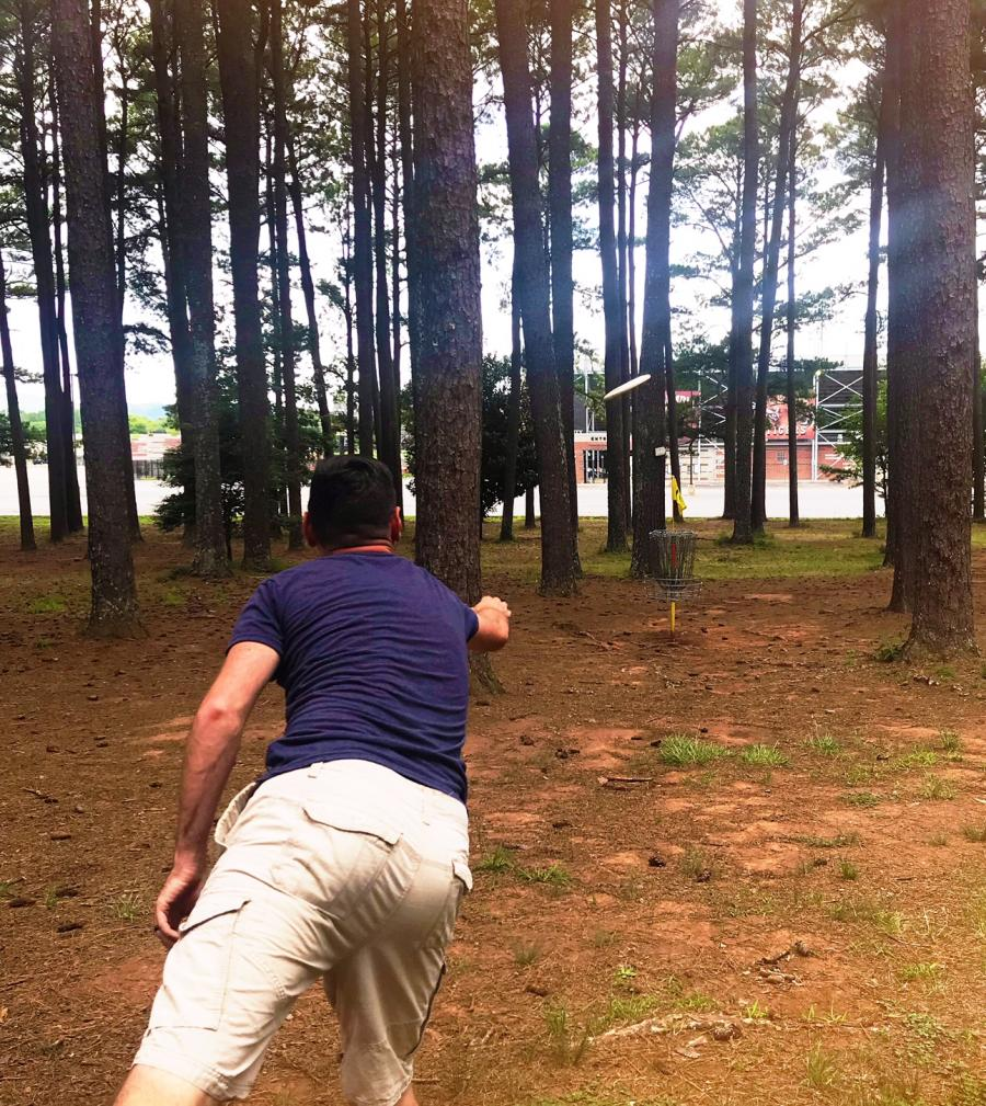 brahan spring park throw pic Disc Golf