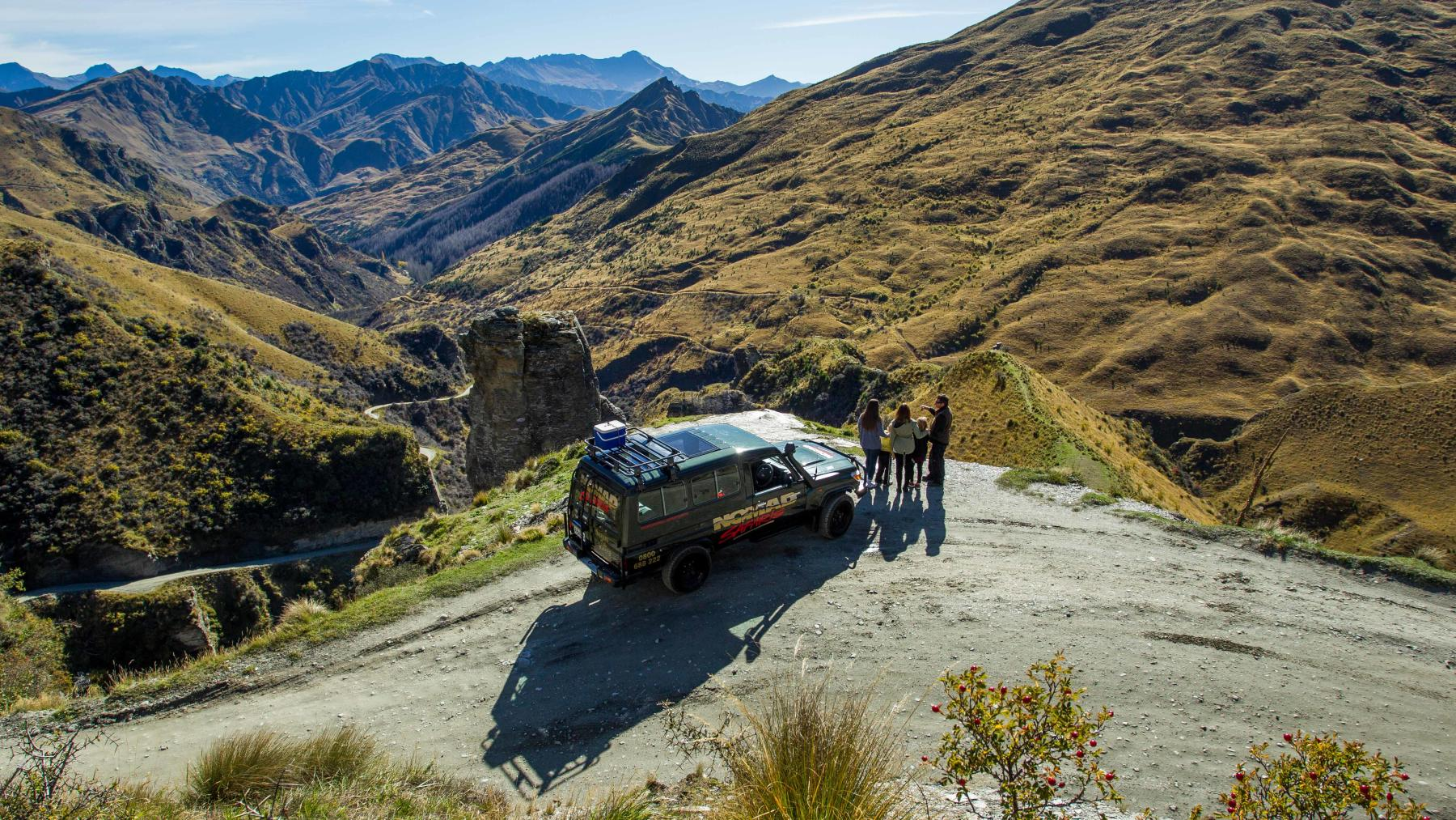 Queenstown, Skippers Canyon, 4WD, Lighthouse Rock